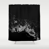 istanbul Shower Curtains featuring Istanbul  by Line Line Lines