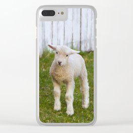 3 Little Lambs Clear iPhone Case
