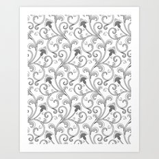 Black & White Art Print