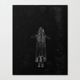 Black Exposure Canvas Print