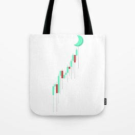 Candle to the MOON Tote Bag