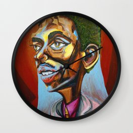 "Theodore ""Teddy"" Marcus Edwards Wall Clock"