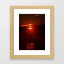 Morning Sunrise Framed Art Print