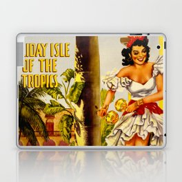 Cuba Holiday Isle of the Tropics Laptop & iPad Skin
