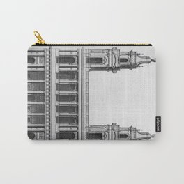 Saint-Sulpice, Grand Portail Carry-All Pouch