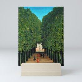 The Avenue in the Park at Saint Cloud by Henri Rousseau Mini Art Print