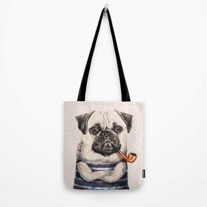 Mr.Pug Tote Bag