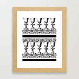 Here's to You! Framed Art Print