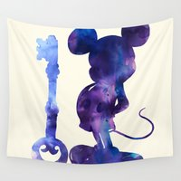 key Wall Tapestries featuring The Key by choppre