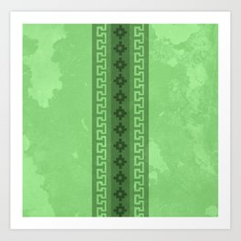 Green in the Andes Art Print