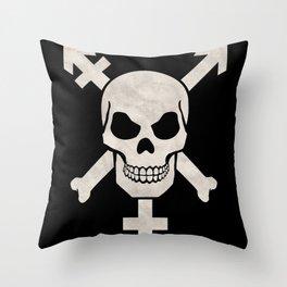 Trans Pirates Throw Pillow