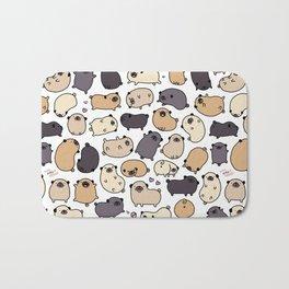 Pug Life Doodle Bath Mat
