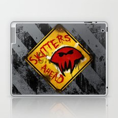 Caution: Skitters Ahead (Falling Skies) Laptop & iPad Skin