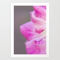 Pretty n Pink too Art Print