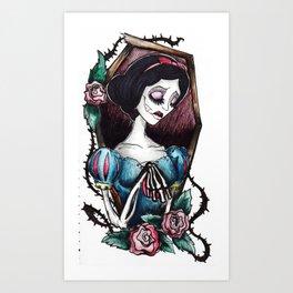 Blanca Muerta Art Print