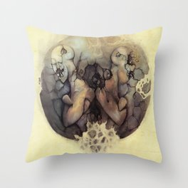 Destructive Division Throw Pillow