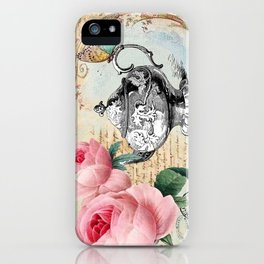 Vintage Flowers #17 iPhone Case