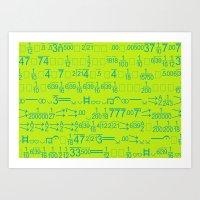 Matematico Art Print