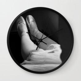 Ballerina's legs Wall Clock