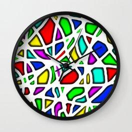 clown face Wall Clock