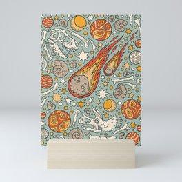 The Asteroid & the Omega Mini Art Print