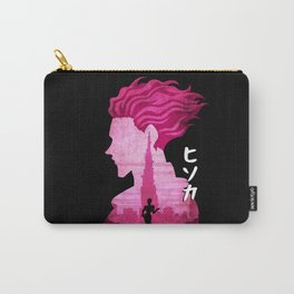 Minimalist Silhouette Hisoka Carry-All Pouch