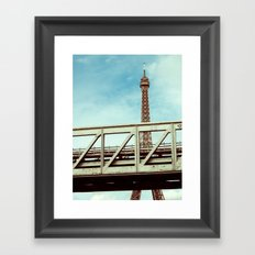 IRON UNDER THE SUN. Framed Art Print