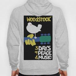 Woodstock 1969 - black background Hoody