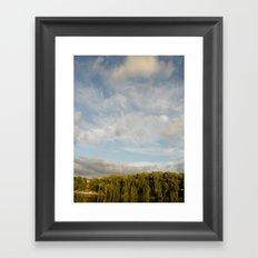 Open Heaven  Framed Art Print