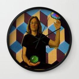 George Leutz Q*Bert Rookie Card Wall Clock