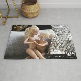Time for friends Rug