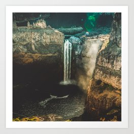 Washington Heights - nature photography Art Print