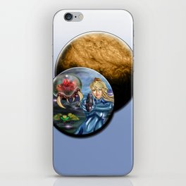 While on Zebes iPhone Skin