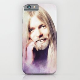 Gregg Allman, Music Legend iPhone Case
