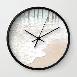 Huntington Beach Wave // California Ocean Sandy Beaches Surf Country Pacific West Coast Photography Wall Clock