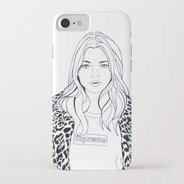 Kate M. X Supreme iPhone Case