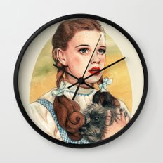 I Don't Think We're In Kansas Anymore Wall Clock
