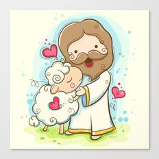 Lord is my shepherd Canvas Print