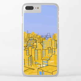 Skyline V Clear iPhone Case