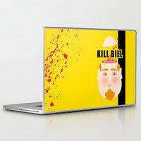kill bill Laptop & iPad Skins featuring Kill Bill by Frikaditas T-Shirts