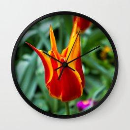 Love Wall Flower Wall Clock