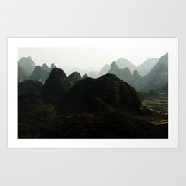 mystical China Art Print