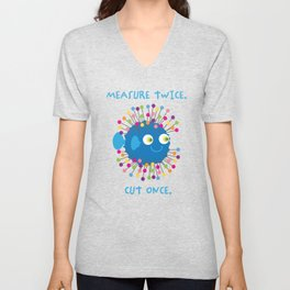 Sew Happy Unisex V-Neck