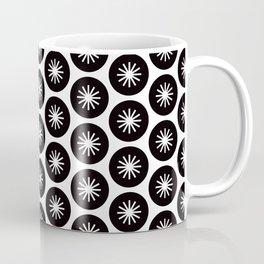 Geometric Pattern 244 (stars in circles 1) Coffee Mug