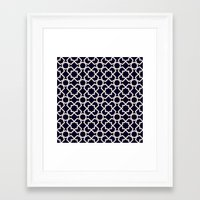 morocco Framed Art Prints featuring Morocco by Patterns and Textures