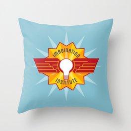 Imagination Institute Throw Pillow