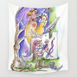 RB Bird Song Wall Tapestry