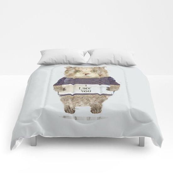 i like you Comforters