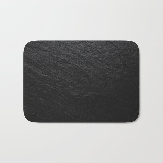 Black Slate Bath Mat