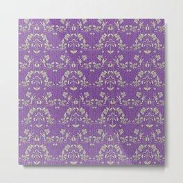 repeating pattern - Purple Haze Metal Print